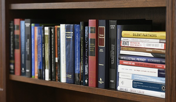 Books and textbooks by WashULaw professors.